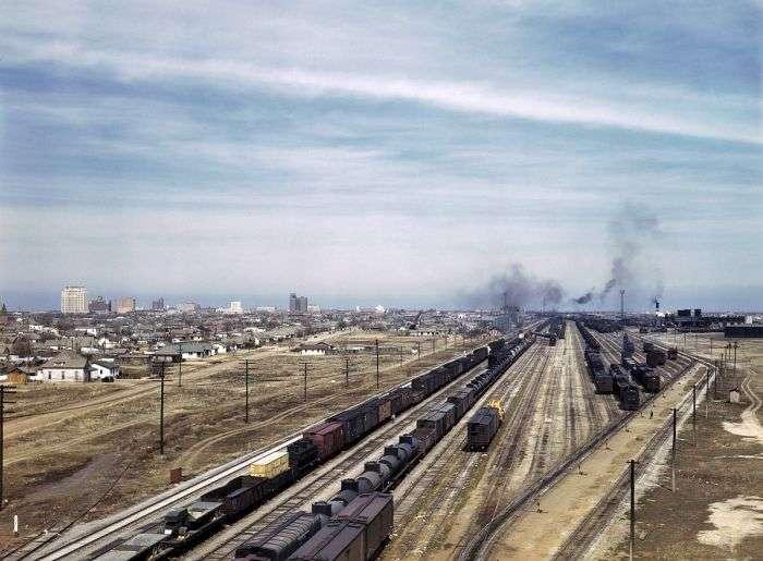 Кольорові фотографії Америки 40х років (100 фото)