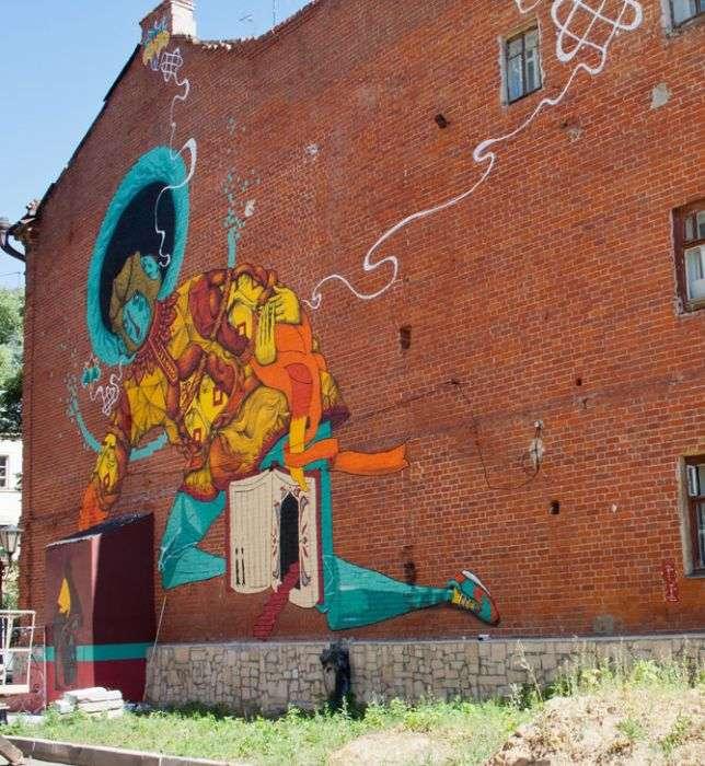 У Казані пройшов фестиваль стріт-арту (44 фото)