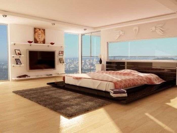 Спальні з дивовижним видом (36 фото)