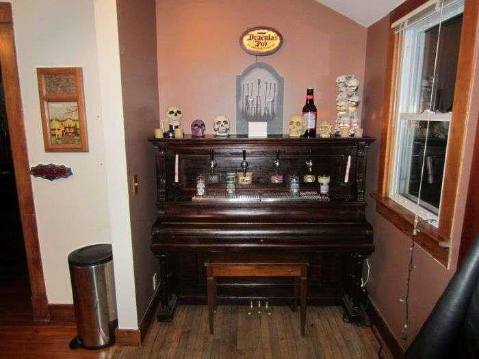 Пивний рояль своїми руками (9 фото)