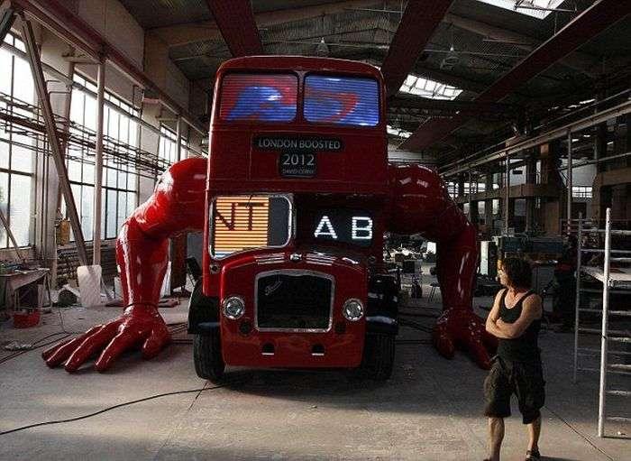Креатив з лондонського автобуса (11 фото)