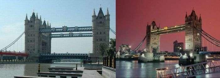 Китайська копія Тауерського моста (6 фото)