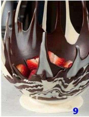 Шоколадне ласощі своїми руками (9 фото)