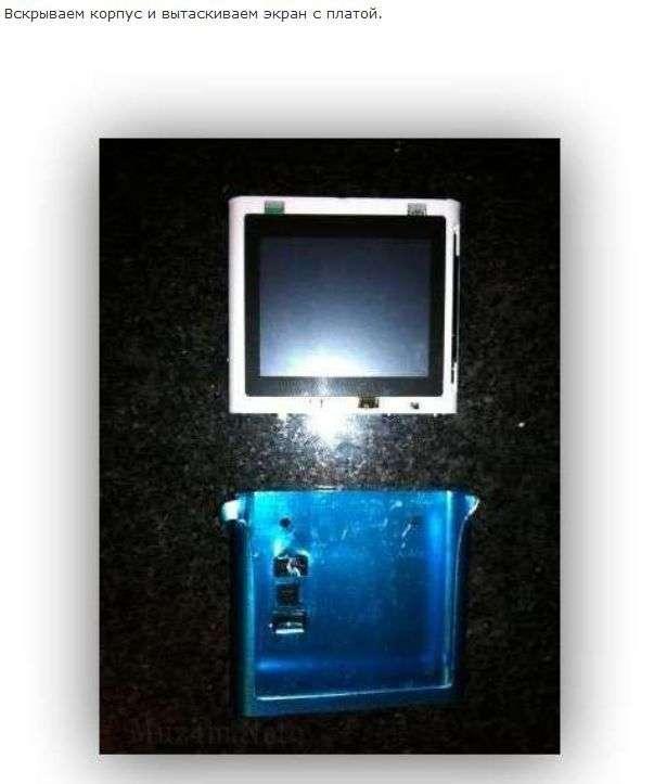 iPod Nano в корпусі Електроніки (23 фото)