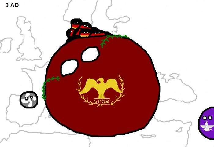 Європейські конфлікти за 2000 років в класних коміксах (16 картинок)