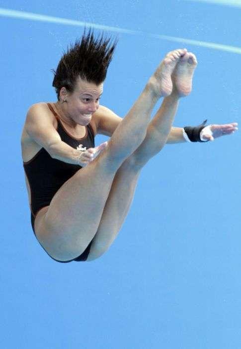 Прикольні вирази осіб у спорті (35 фото)