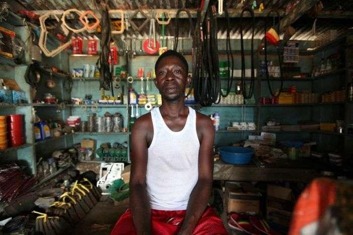 Як видобувають золото в Гані (34 фото)