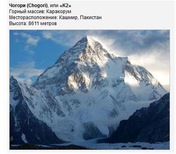 Найнебезпечніші гори світу (19 фото)