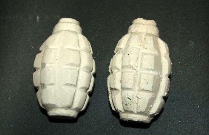 Робимо муляж ручної гранати (13 фото)