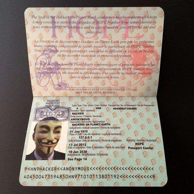 Персональний паспорт хакера (5 фото)