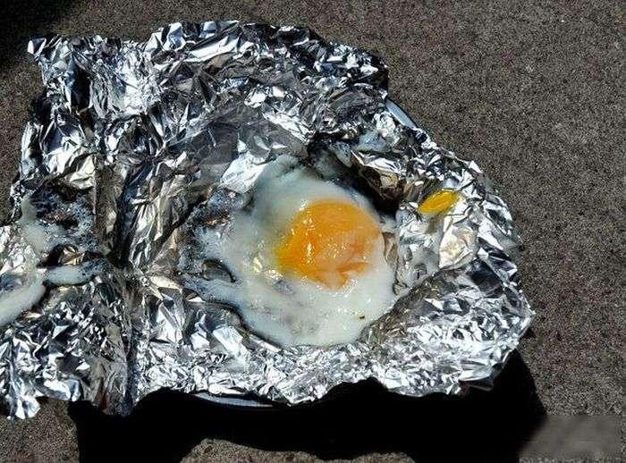 Повноцінний обід за кермом в пробці (4 фото)
