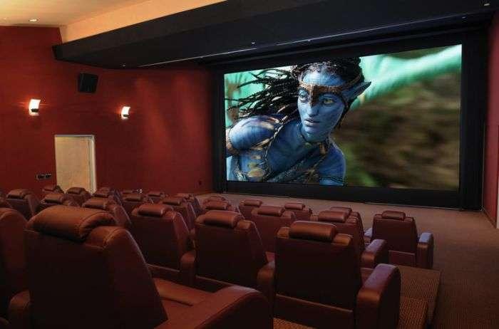 Дивні домашні кінотеатри (20 фото)