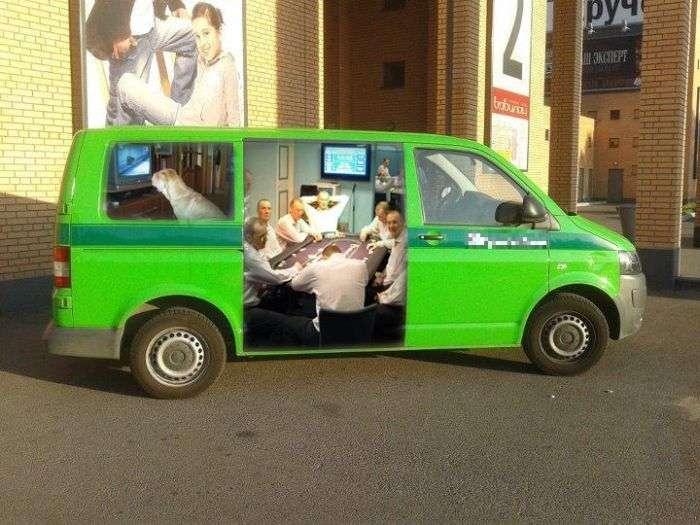 Креативні інкасаторські автомобілі (6 фото)