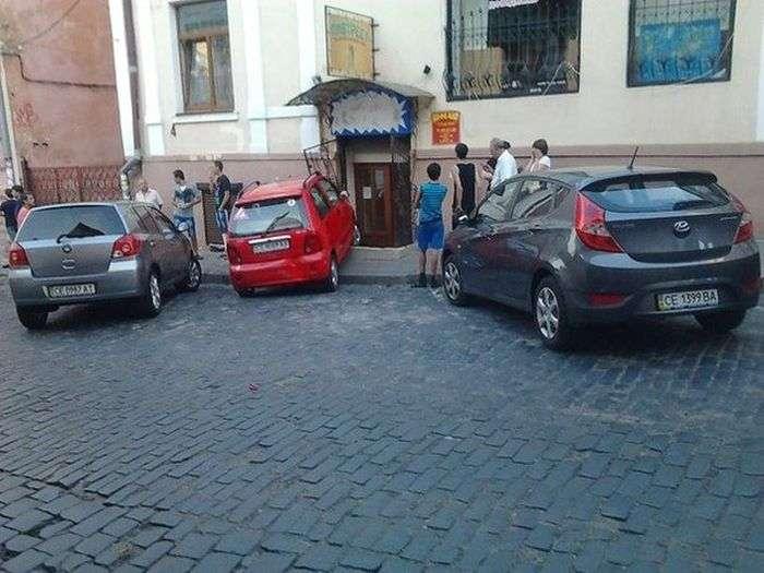 Як не треба паркуватися (6 фото)