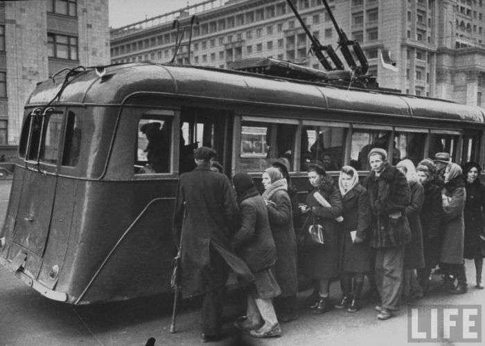 Післявоєнна Москва (156 фото)
