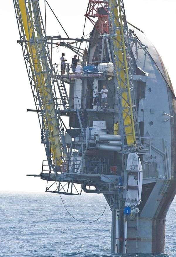 Унікальне дослідницьке судно-трансформер (8 фото + відео)