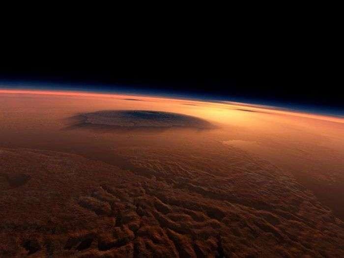 Найвища гора в сонячній системі (7 фото)