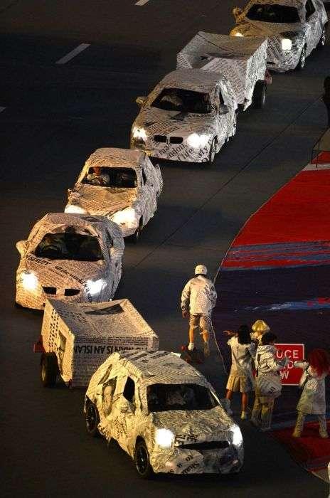 Офіційне закриття Олімпійських Ігор 2012 у Лондоні (95 фото)