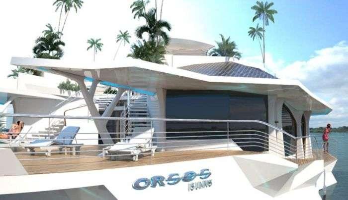 Футуристичний пересувний острів Орсос (28 фото)
