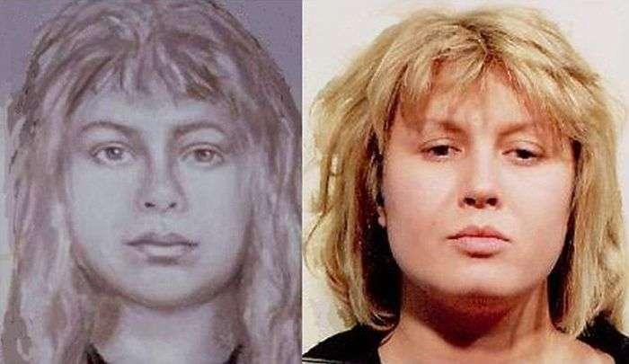 Поліцейські портрети злочинців (9 фото)