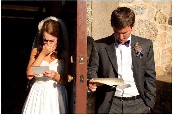 Реакція чоловіка і жінки на любовний лист (3 фото)
