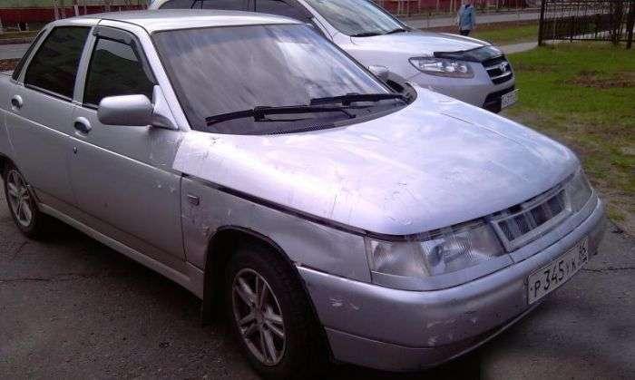 Суворий ремонт автомобіля (5 фото)