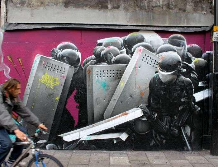 Дивовижне вуличне мистецтво (51 фото)