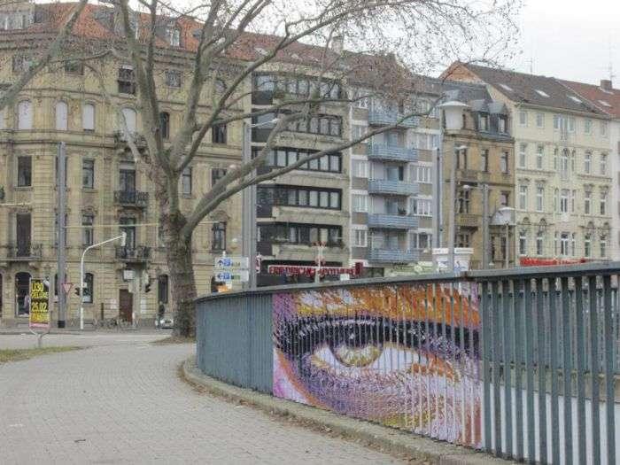 Дивовижний стріт-арт, видимий під потрібним кутом (20 фото)