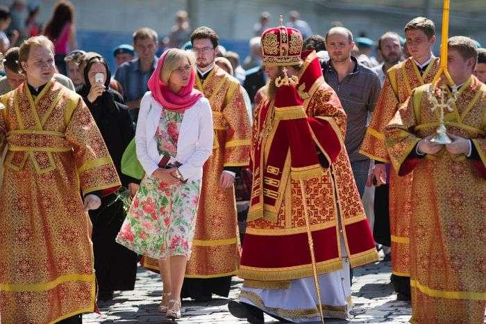 День ВДВ на Василівському узвозі в Москві (21 фото)