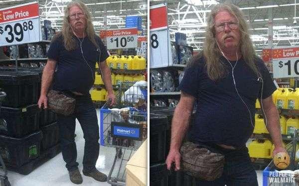 Смішні люди з супермаркетів. Частина 17 (55 фото)