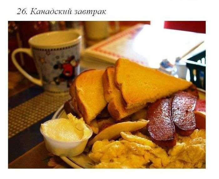 Сніданки в різних країнах світу (50 фото)