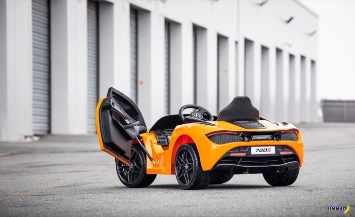 Детский McLaren 720S Интересное
