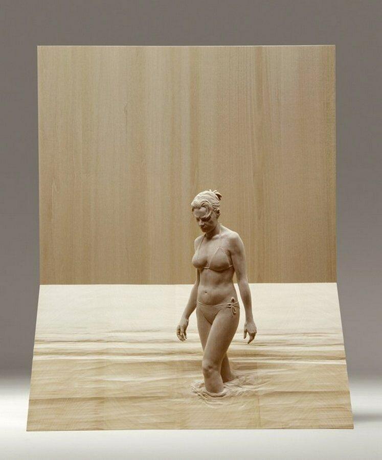 15 невероятных деревянных скульптур, которые поражают воображение Интересное
