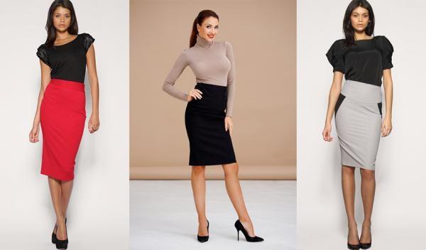 Юбка с завышенной талией делает фигуру стройнее лучшее,мода,модные советы,Наряды