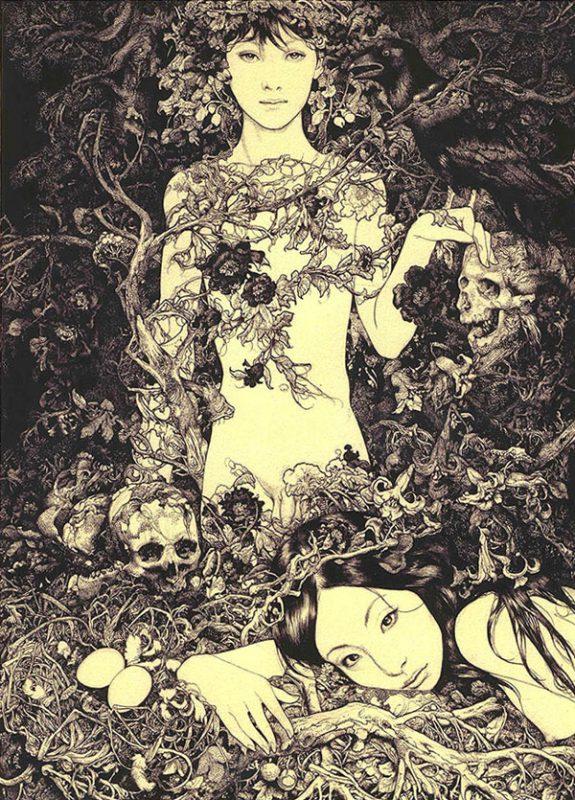 Неконтролируемая сексуальность в картинах Вани Журавлева