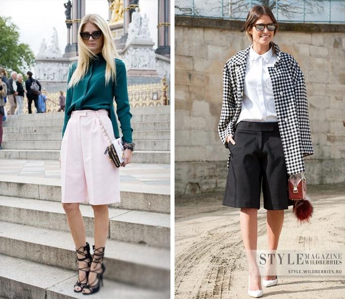 Элегантные удлиненные шорты: актуальные модели на лето гардероб,мода и красота,модные тенденции,одежда и аксессуары