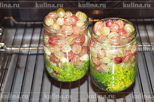 Маринованный крыжовник с чесноком заготовки,консервируем,кулинария