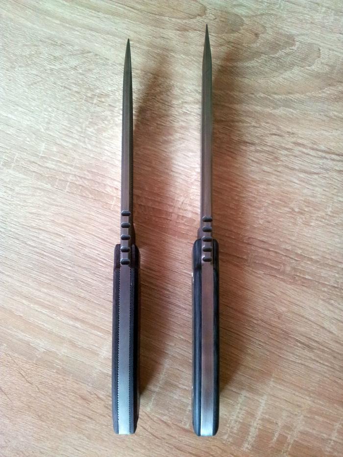 Ножи из напильника нож
