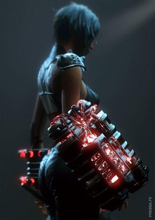 «В темное тысячелетие»: великолепные 3D концептуальные работы Дилана Ковальски Интересное