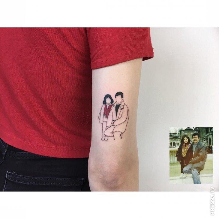 Необычное направление: миниатюрные татуировки Интересное