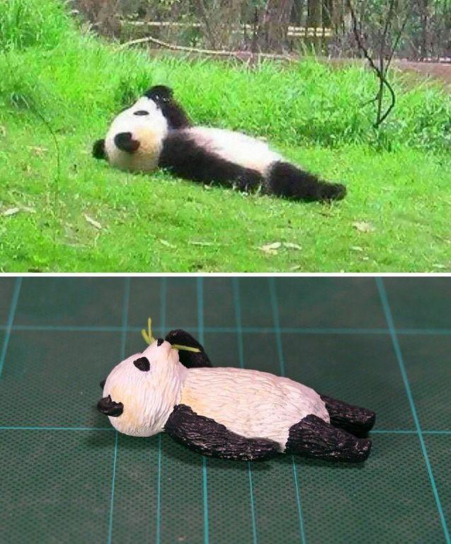 Художник создает фигурки животных по забавным интернет-мемам зверушки,живность,питомцы,Животные
