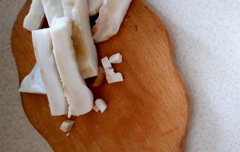 Как приготовить колбасу на молоке в банке Кулинария,Гречка,Колбаса,Кровь,Молоко,Сало
