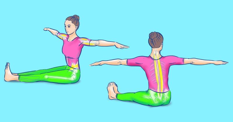 Как укрепить поясницу Здоровье,Зарядка,Осанка,Позвоночник,Поясница,Профилактика,Упражнения,Фитнес