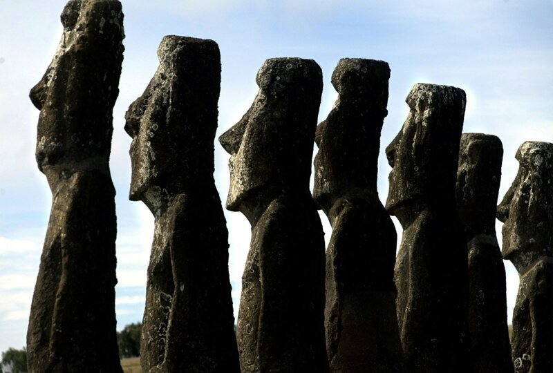 Древние реликвии острова Пасхи оказались под угрозой из-за туристов путешествия,Путешествие и отдых