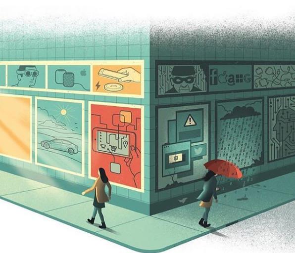 Любопытные иллюстрации от Давида Бонацци