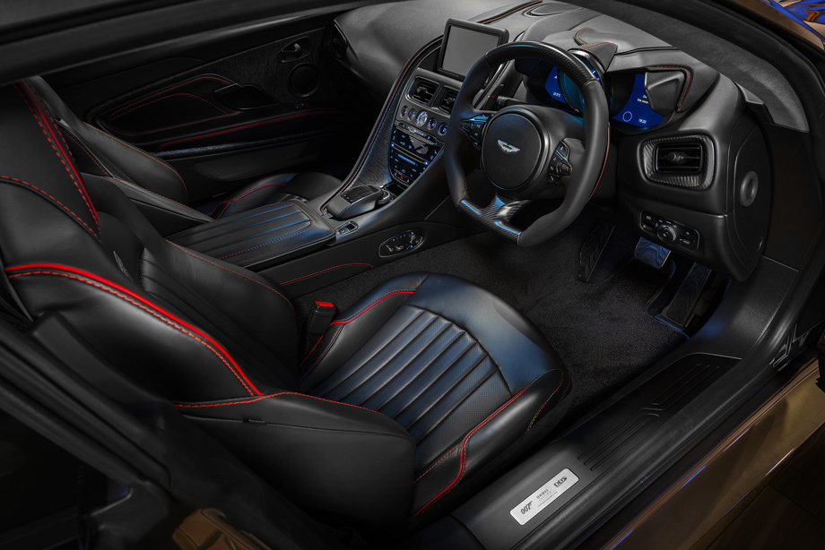 Купе OHMSS DBS Superleggera напомнило о Джеймсе Бонде Авто и мото