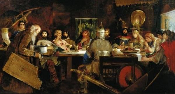 Кулинарные изыски Древней Руси: березовая каша и жареные лебеди Интересное