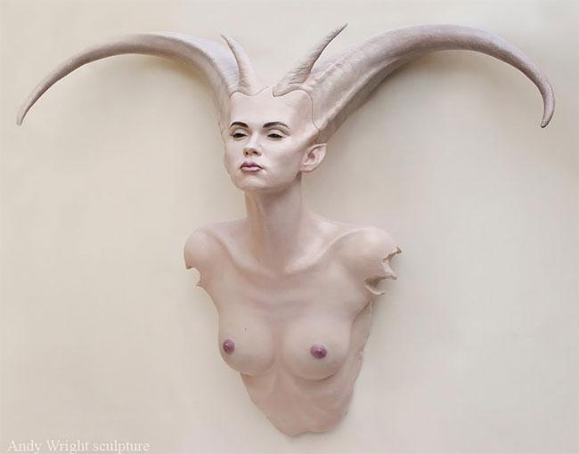 Невероятные гиперреалистичные скульптуры Энди Райта Искусство