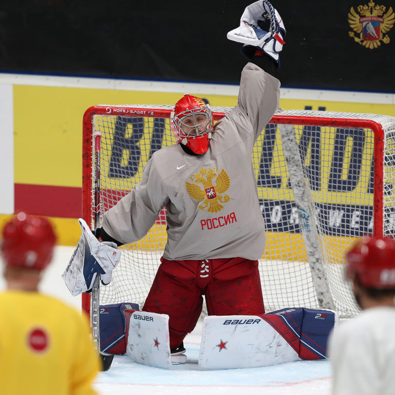 Россия перед США: Воробьев защищал Овечкина и Кузнецова, Василевский остался первым номером Спорт