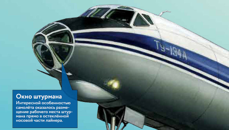 Ту-134 — небесный трудяга История